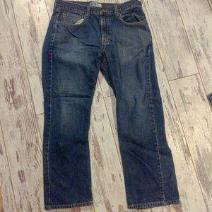 Mens Levi Strauss signature straight jeans 34 x 30
